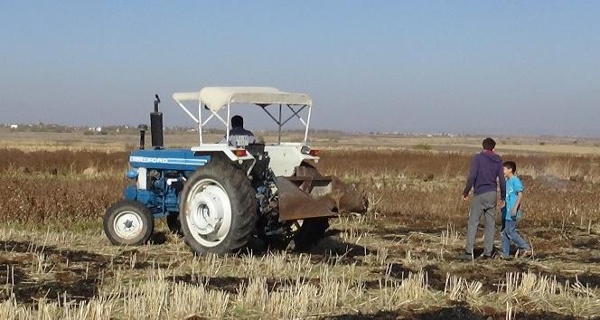Diyarbakır'da buğday ekim mesaisi sürüyor