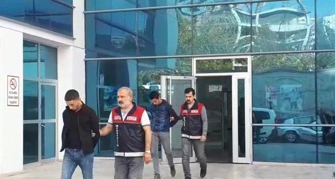 Camide dua ettikten sonra hırsızlık yapan şahıslar tutuklandı