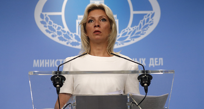 Zaharova: 'Suriye'deki saldırılarla ilgili soruşturma konusunda Rusya'ya baskı yapılmıyor'
