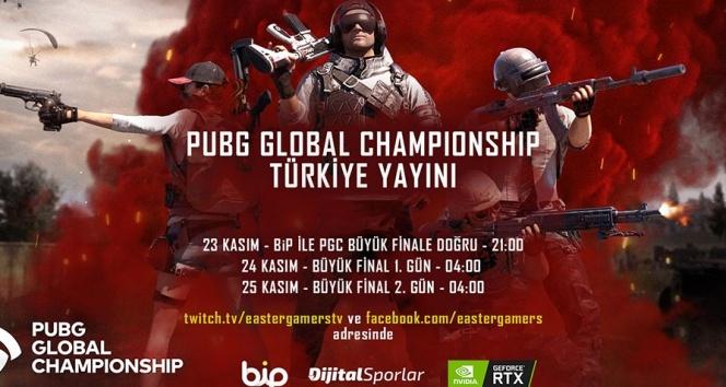 Oyunseverler PUBG Global Championship 2019 heyecanı için BiP'te buluşuyor