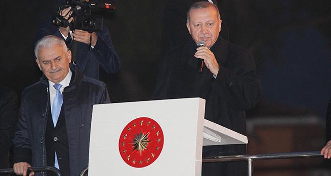 Cumhurbaşkanı Erdoğan İzmir'de müjdeyi açıkladı: Tarıma dayalı sanayi bölgesi kurulacak