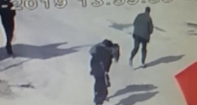 Edirne'de dehşet anları güvenlik kamerasında
