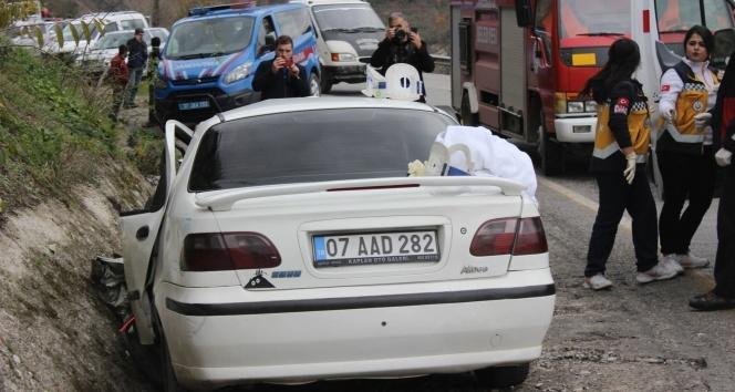 Kastamonu'da feci kaza! Biri bebek 3 kişi öldü, 2 kişi yaralandı