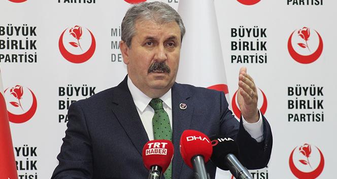 BBP Genel Başkanı Destici: 'Asgari ücretin 2 bin 475 lira olmasını teklif ediyoruz'