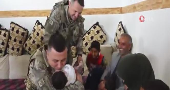 Tel Abyadlı Ziheyye, Mehmetçik'i evinde ağırladı
