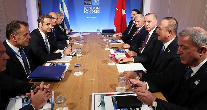 Yunanistan Başbakanı Miçotakis'ten Erdoğan görüşmesi sonrası açıklama