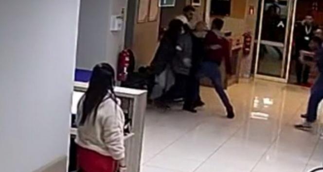 Hastane çalışanı bıçaklı saldırıya uğradı