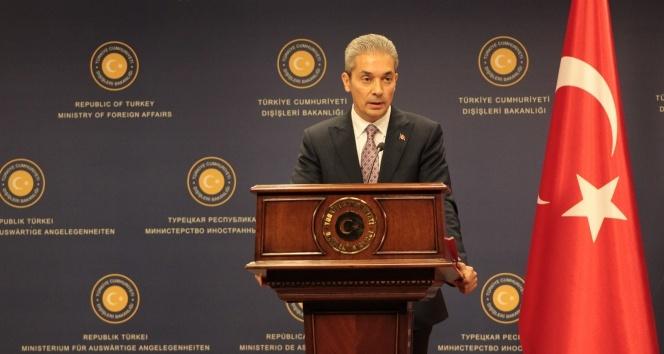 Dışişleri Bakanlığı Sözcüsü Hami Aksoy'dan önemli açıklamalar