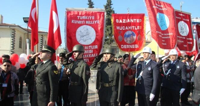 Kilis'in düşman işgalinden kurtuluşunun 98 yıl dönümü kutlandı