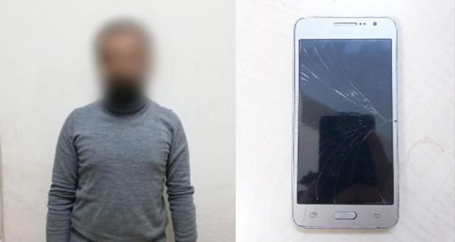 Cep telefonu hırsızı suçüstü yakalandı