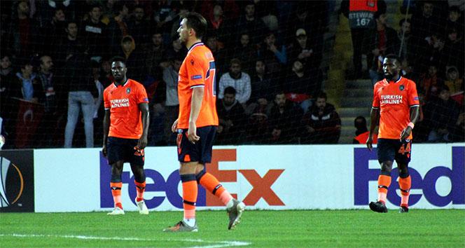 Başakşehir'in 3 maçlık galibiyet serisi sona erdi