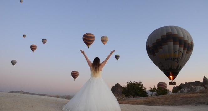 Kapadokya bölgesi rekor ziyaretçi sayısına ulaştı