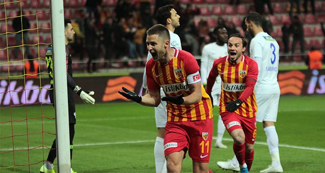 İ.M. Kayserispor 3 puanı tek golle aldı