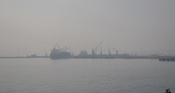 Marmara Denizinde yoğun sis etkili oluyor