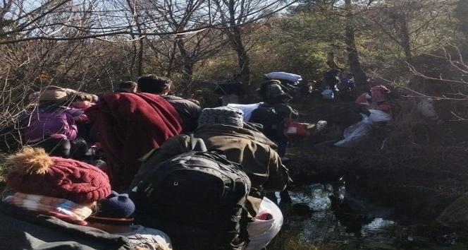 Çanakkale'de 32 mülteci yakalandı!