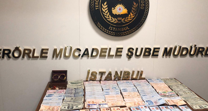 İstanbul'da FETÖ operasyonu: Bu paralar 'gaybubet' evlerinden çıktı