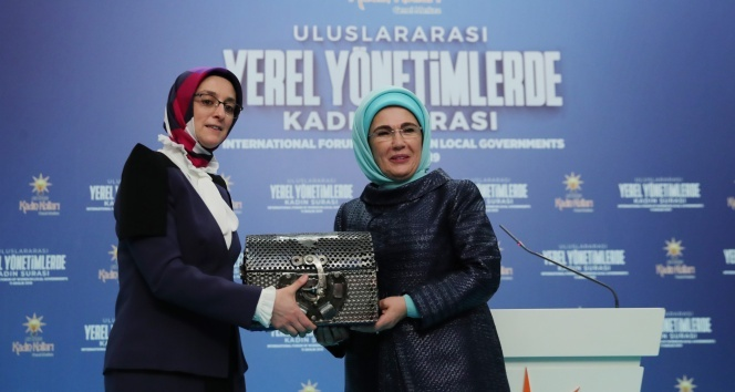 """Emine Erdoğan: """"Kadına yönelik şiddet denen illetten kurtulmanın yolu, aile içinin şiddetten arındırılmasıyla mümkün"""