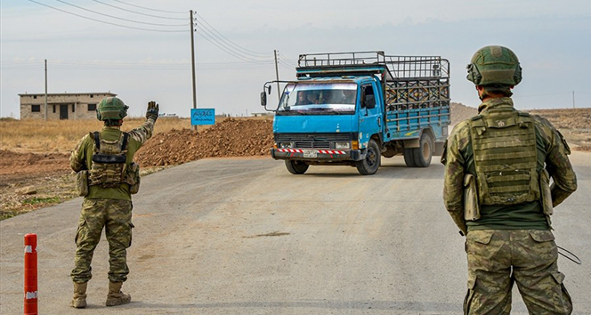 MSB: 'Tel Abyad ve Rasulayn'da toplam 41 yol kontrol noktası oluşturuldu'