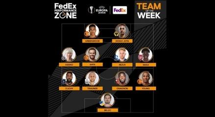 Başakşehirli Clichy, Avrupa Liginde haftanın 11ine seçildi