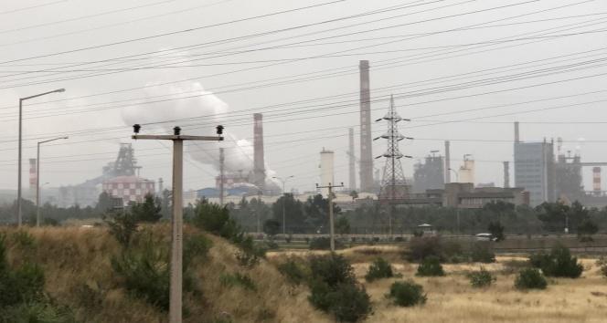 Demir çelik fabrikasında patlama!
