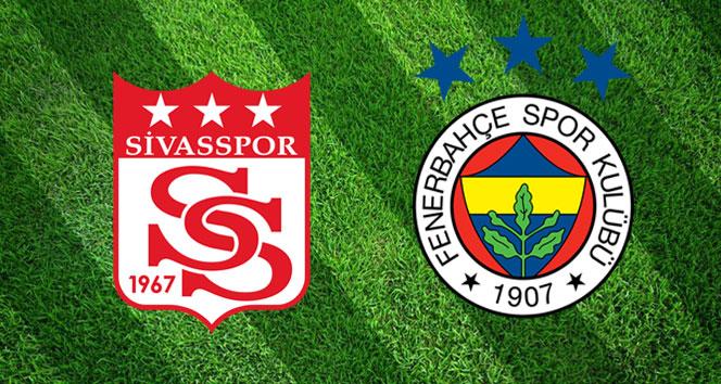 Sivasspor  Fenerbahçe Canlı İzle   Sivasspor Fenerbahçe maçı ne zaman, hangi kanalda, saat kaçta?   (Muhtemel 11'ler)