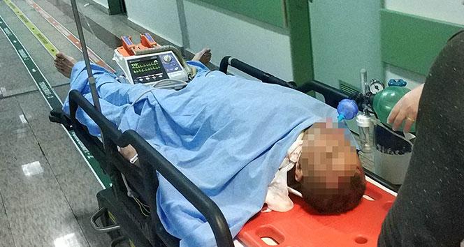 Samsun'da 3. kattan düşen öğretmen ağır yaralandı