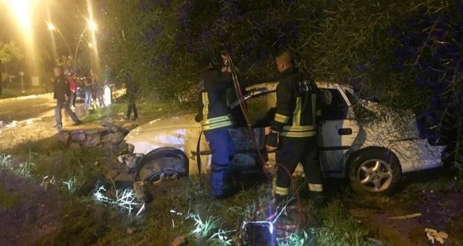 Datça'da trafik kazası: 2 ölü