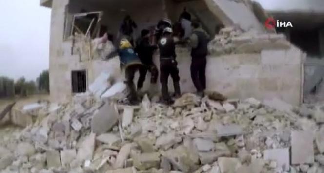 Esad rejimi İdlib'e saldırdı: 1 ölü, 6 yaralı