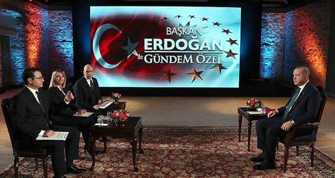 Cumhurbaşkanı Erdoğan: 'Burada Sevr'in ters yüz edilmesi var'
