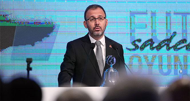 Bakan Kasapoğlu'ndan İstiklal Marşı'nın yarıda kesilmesine tepki
