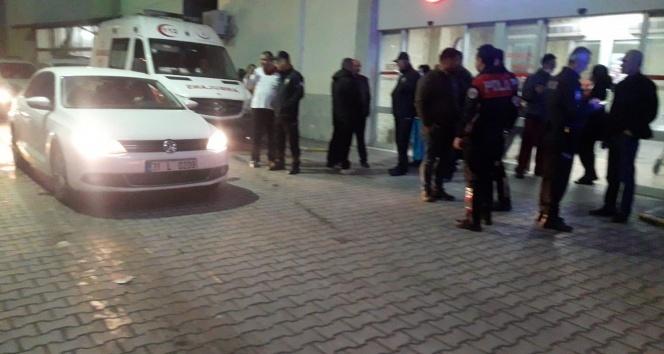 Hatay'da devlet hastanesinde yangın paniği