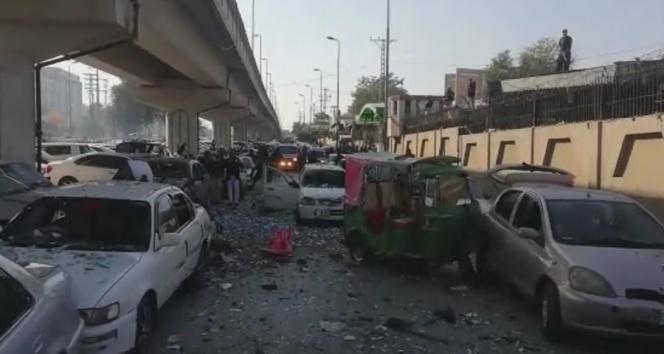 Pakistan'da patlama: 3 yaralı