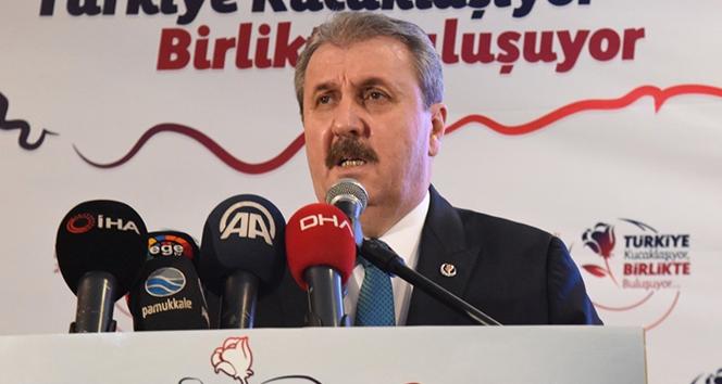 BBP Genel Başkanı Destici'den 'Asgari Ücret' açıklaması!