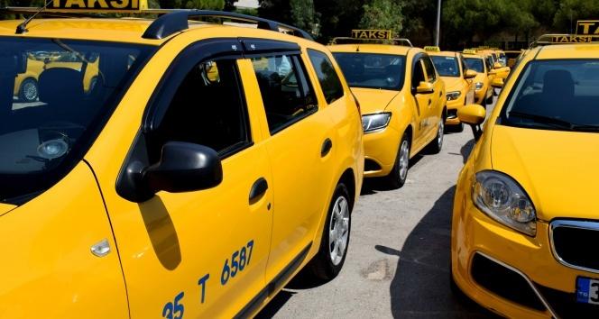 Taksicilerden İBB'ye tepki