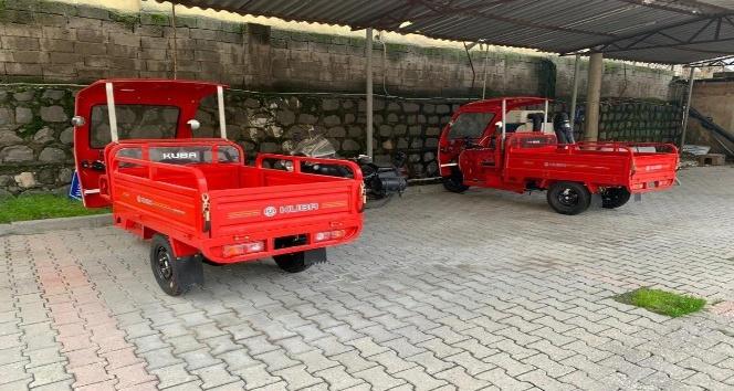 Cizre'de 'çöp motor' hizmeti