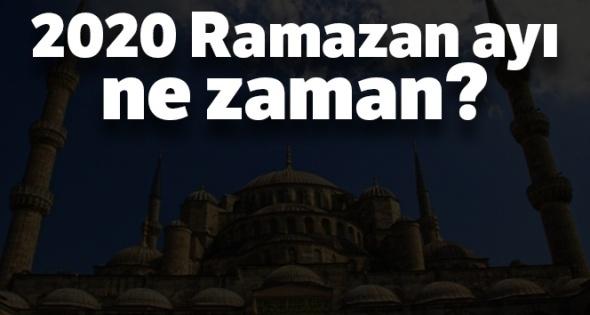 Ramazan orucu 2020