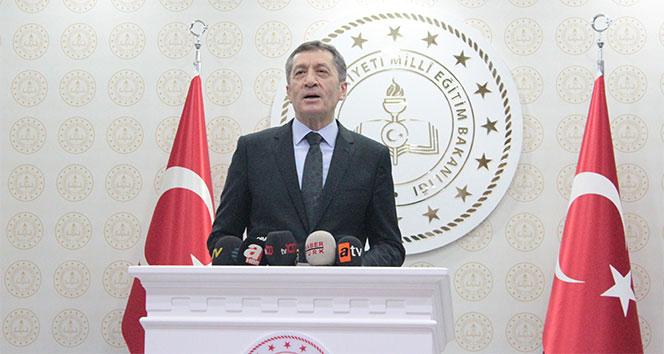 Milli Eğitim Bakanı Selçuk'tan önemli açıklamalar