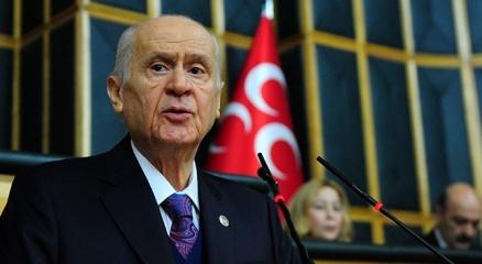 MHP Genel Başkanı Bahçeliden helikopter kazasında şehit olan askerler için başsağlığı mesajı