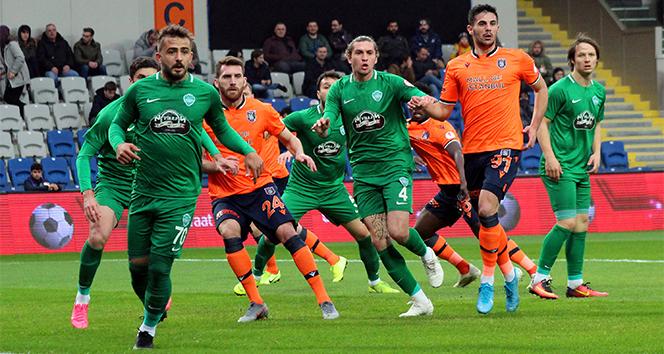 Ziraat Türkiye Kupası'nda Medipol Başakşehir, GMG Kırklarelispor ile berabere kaldı