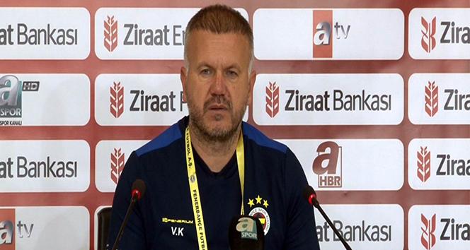 Fenerbahçe Yardımcı Antrenörü Volkan Kazak: 'Kadıköy'deki maç daha farklı olacaktır'