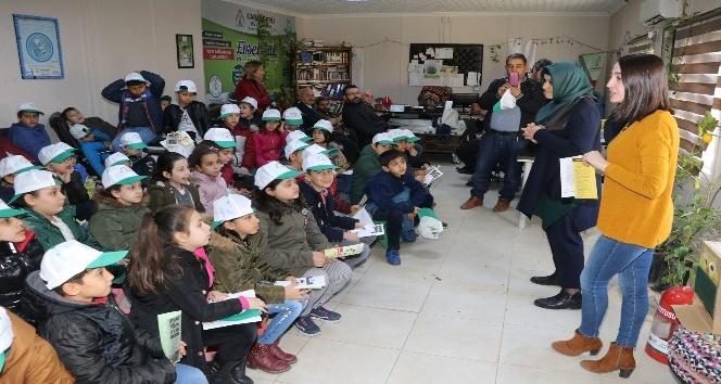 Karaköprü'de çocuklara çevre bilinci aşılanıyor