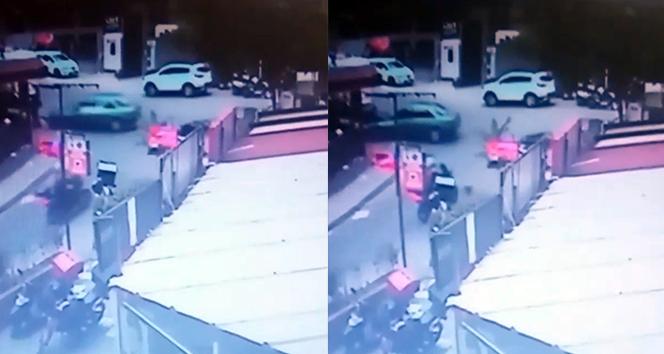 İstanbul'da alkollü sürücü dehşeti kamerada!