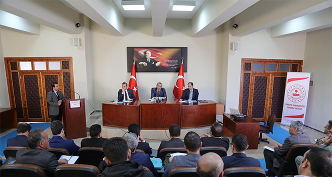 Tunceli'de uyuşturucu ile mücadele toplantısı