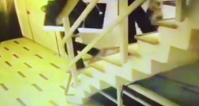 Nişantaşı'nda 'OT' isimli dergi binasını soyan hırsızlar kamerada
