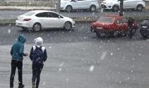 Mevsimin ilk karı yağdı!