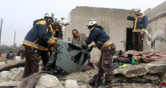 Rus savaş uçakları Halep'i vurdu: 6 ölü 10 yaralı