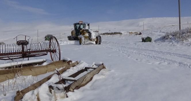 Muş'ta 95 köy yolu ulaşıma kapandı