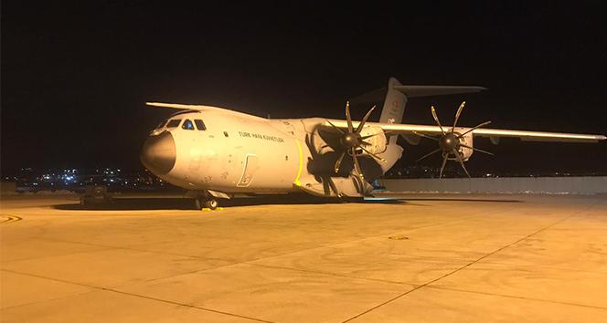 Somali'de yaralıları Türkiye'ye getirecek olan uçak Ankara'da