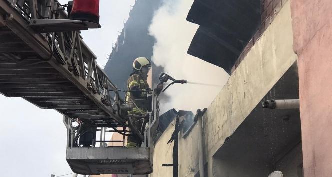 Bursa'da yangın...Yaşlı adam yanarak can verdi