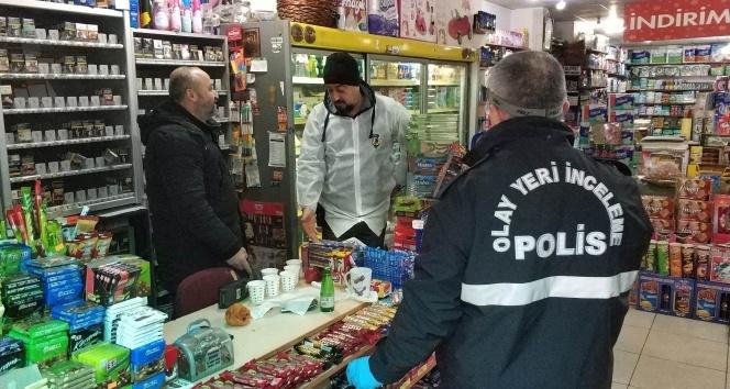 Hırsız, karakolun yakındaki marketi soydu